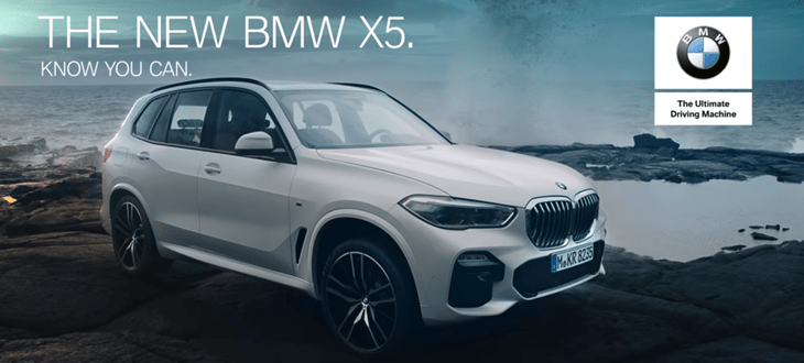 bmw x5 know you can advert music 2018. Black Bedroom Furniture Sets. Home Design Ideas